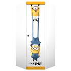 Шкаф угловой Polini kids Fun 1250 «Миньоны», желтый