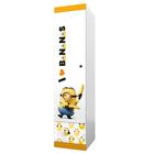 Шкаф-пенал Polini kids Fun 460 «Миньоны», желтый