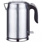 Чайник электрический GEMLUX GL-EK-772SM, 2200 Вт, 1.7 л, металл, автоотключение, серебристый