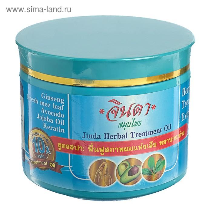 Маска для сухих и поврежденных волос Jinda с женьшенем, Кератином, 400 мл