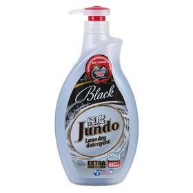 Гель для стирки черного белья Jundo Black концентрированный, 1л