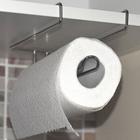 Держатель для бумажных полотенец, подвесной, 23 см - Фото 4