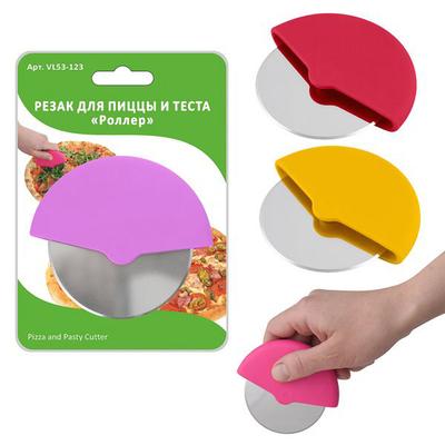 Резак для теста и пиццы «Роллер», 9.5×8.5 см