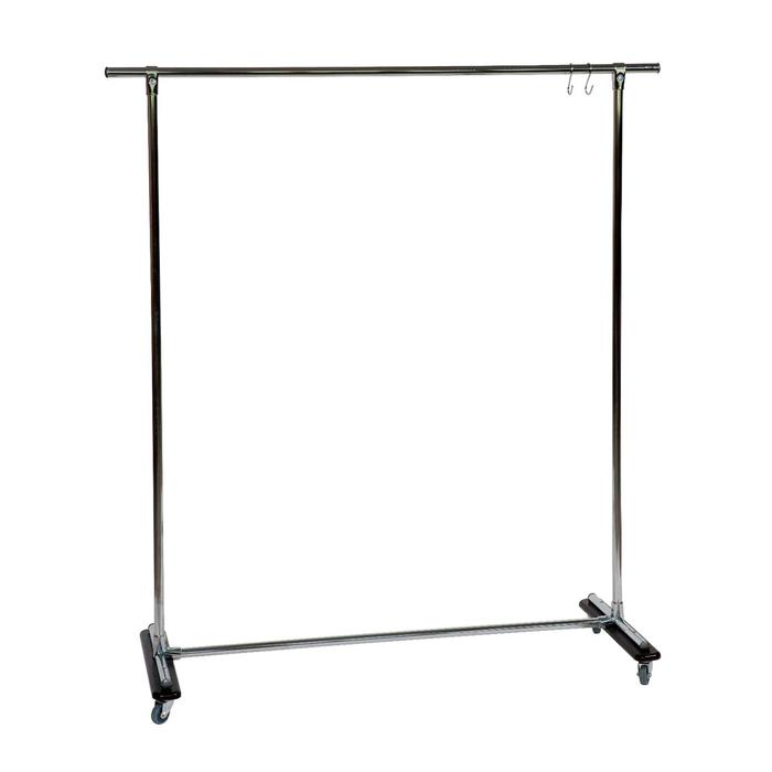 Вешалка гардеробная «Ольстер 1400», 1400 × 500 × 1580 мм, цвет венге