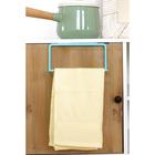 Держатель для полотенец на дверцу шкафа, цвет голубой