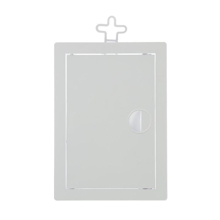 Лючок ревизионный TUNDRA, 100 х 150 мм, пластик