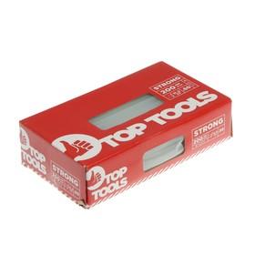 Стержни клеевые Top Tools 42E151, 11х200 мм, 50 шт., прозрачные