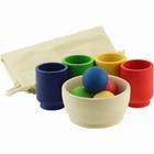Сортер «Шарики в стаканчиках: Стартовый набор» 4 цвета, стаканчики 5 см