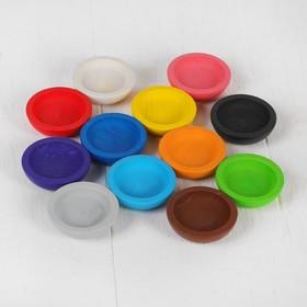 """Набор """"Цветные тарелочки"""" набор 12 шт., d=4 см"""