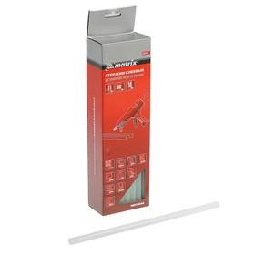 Стержни клеевые Matrix 930741, 11 x 300 мм, прозрачные, 34 шт., 1 кг