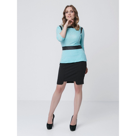Блузка женская, размер 42, цвет мятный