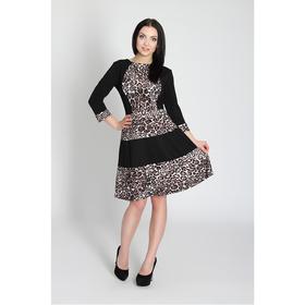 Платье женское, размер 42, цвет чёрный