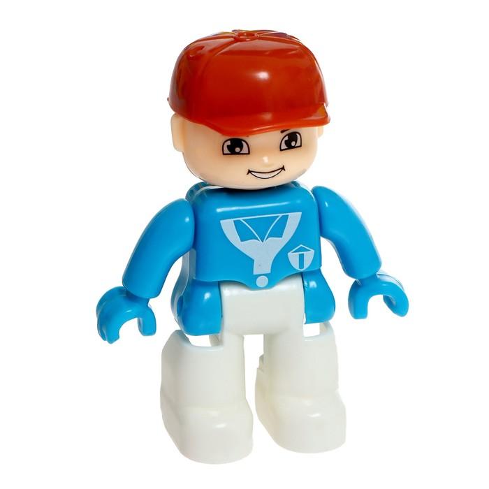Железная дорога «Парк развлечений», световые и звуковые эффекты, работает от батареек
