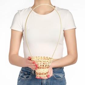 Корзина «Стакан», 12×14 см, бамбук Ош