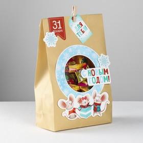 Пакет подарочный «Мышки для тебя», набор для создания, 15.5 × 28.5 см Ош