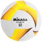 Мяч футбольный MIKASA F571MD-TR-O, размер 5, PVC, ручная сшивка, 32 панели, 3 подслоя