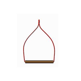 Качели для птиц в клетку деревянные, фигурные 13 х 0,8 х 16 см Ош