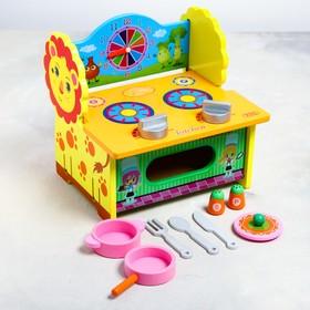 Игровой набор «Кухня-Львёнок» 27×21×7 см Ош