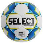 Мяч футбольный SELECT Numero 10, размер 5, IMS, PU, ручная сшивка, 32 панели, 4 подслоя, 810508-020