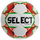 Мяч футбольный SELECT Talento, размер 5, PU, ручная сшивка, 32 панели, 4 подслоя, 390-410 г, 811008-103