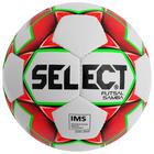 Мяч футзалальный SELECT Futsal Samba, размер 4, IMS, TPU, ручная сшивка, 32 панели, 3 подслоя, 852618-003