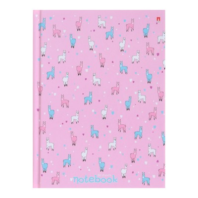 Блокнот А6, 80 листов, твёрдая обложка «Зефирное настроение», глянцевая ламинация - Фото 1
