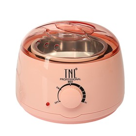 Воскоплав TNL wax 100, баночный 100 Вт, 400 мл, 35-100 ºС, розовый Ош