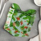 Блюдо сервировочное Доляна «Подарок. Тропики», 15,1×17,3 см - Фото 1