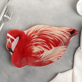 Блюдо Доляна «Фламинго», 26×14,5 см
