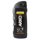 Гель для душа 2 в 1 Arko Men Black «Глубокое очищение», 260 мл