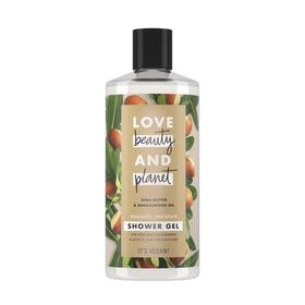 Гель для душа Love Beauty and Planet «Масло ши и сандаловое дерево», 400 мл