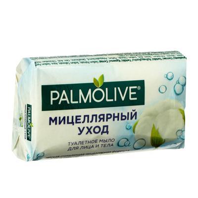 Мыло для лица и тела Palmolive «Мицеллярный уход», с нежным ароматом хлопка, 90 г - Фото 1