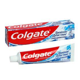 Зубная паста Colgate «Тройное действие», экстра отбеливание, 100 мл