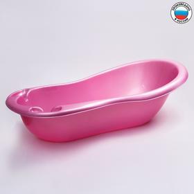 Ванночка для купания с картинками,цвет розовый Ош