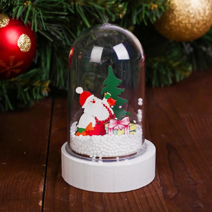 Декор с подсветкой «Дед Мороз»
