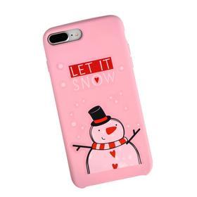 Наклейки на телефон Let it snow, 8 × 14 см