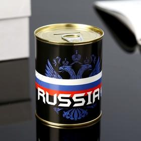 Копилка-банка металл 'Russia' 7,3х9,5 см Ош