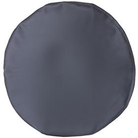 Чехол запасного колеса R15 диаметр 67см Skyway экокожа серый Ош