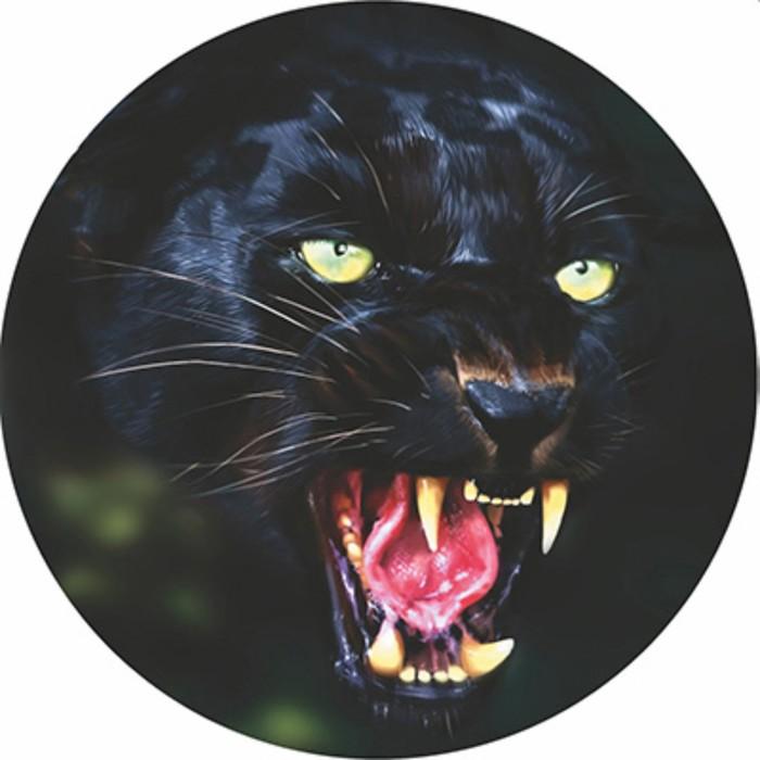 Чехол запасного колеса черная пантера R15 диаметр 67см Skyway экокожа