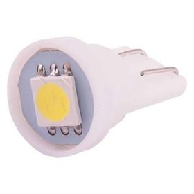 Лампа светодиодная T10(W5W), 12В 1 SMD диод без цоколя Skyway,