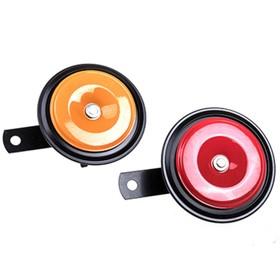 Сигнал звуковой дисковый Skyway 024 d=90 мм 12V 105dB металл, 2 шт Ош