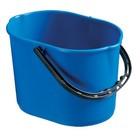Ведро пластиковое TTS Pit 12 л, цвет синий
