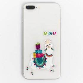 Наклейки на телефон «Снежная лама», 8 × 14 см
