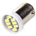 Лампа светодиодная T10(T4W), 24В, 8 SMD 1ch c цоколем Skyway,
