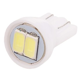 Лампа светодиодная T10(W5W), 12В 2 SMD диода, без цоколя Skyway,