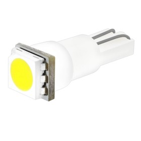 Лампа светодиодная T5(W1,2W), 12В 1 SMD диод без цоколя Skyway,