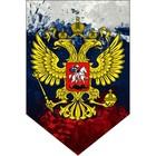 "Вымпел пятиугольный Skyway ""Герб"" красками, 100х150, флаг, 1 шт"