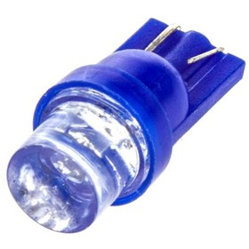 Лампа светодиодная T10(W5W), 24В, 1 диод без цоколя Конус синяя Skyway,