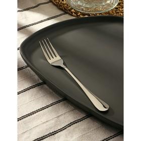 Вилка десертная Доляна «Таун», h=18,5 см, толщина 2 мм