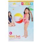 Мяч пляжный «Цветной», d=51 см, от 3 лет, 59020NP INTEX - Фото 2